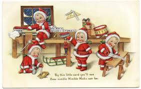 vintage christmas vintage christmas image baby santas the graphics fairy