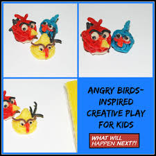 angry birds inspired crafts for kids wikki stix