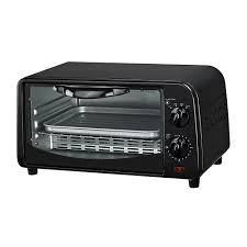 courant 4 slice countertop toaster oven black