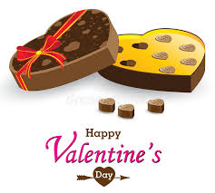 chocolate for s day heart box and gift box isolated on white background s