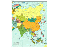Country Maps Maps Of Asia And Asian Countries Political Maps Road And