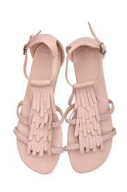 summer lush handmade bohemian style leather sandals with fringe u2013 elf