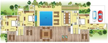 villa floor plans villa floorplans c éblue