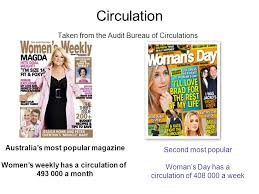 audit circulation bureau magazines and the popularity of vs circulation taken from