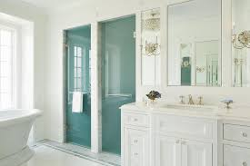 Towel Bar For Glass Shower Door Master Bathroom With Frosted Glass His And Hers Shower Doors