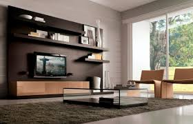 Tv Wall Units Contemporary Tv Wall Unit Wooden Comp 822 Tumidei
