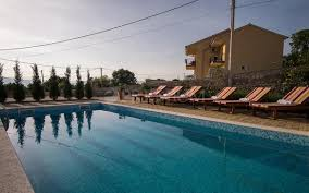 krk for sale new stone houses with a swimming pool and sea view