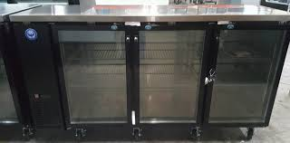 pbb72g 72 u2033 glass door back bar cooler phoenix restaurant equipment