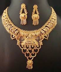 kerala traditional gold bridal necklace designs jewellery designs