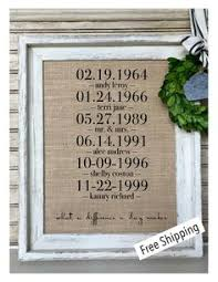 state home burlap print rustic home decor housewarming gift by