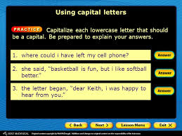 using capital letters why is correct capitalization important