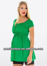 maternity clothes green maternity top with lace pregnant