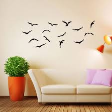 popular birds wall decal buy cheap lots from new seagulls sea birds wall decal mild art paper diy insist for babies nursery baby room