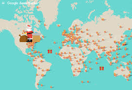 santa map how can you track location of santa claus in a
