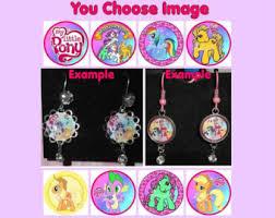 my pony earrings fluttershy earrings etsy