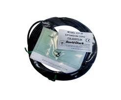 david clark c31 25 ground support headset 25 foot extension cord