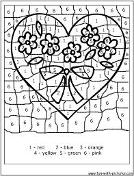 55 color number letter images number