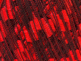 ladder red black trellis ribbon ladder yarns yarn paradise