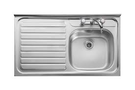 leisure kitchen sink spares leisure contract lc106l 1 0 bowl 2th stainless steel kitchen sink