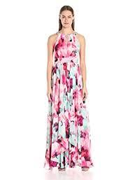 eliza j eliza j women s keyhole floral maxi pink multi 4 at