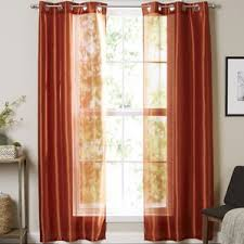 Mustard Curtain Modern U0026 Contemporary Mustard Yellow Curtains Allmodern