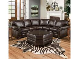 Curved Sectional Sofa With Recliner by Simmons Upholstery 9222 Traditional Sectional Sofa With Rolled