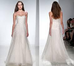 christos u0027s 2014 modified a line wedding dress recent bridal 2015