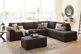 Ottoman Sofa Galaxy Fabric Corner Lounge Suite With Sofa Bed And Ottoman