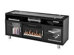 Amazon Fireplace Tv Stand by Amazon Com Madie Flat Panel Tv Stand With 26