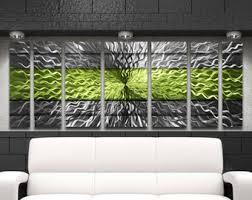 Home Decor Metal Wall Art Large Metal Wall Art Etsy