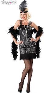 Flapper Dress Halloween Costume Flirty Flapper Costume Halloween Costumes Flappers