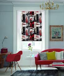 riviera vino pop art designer roman blinds by english blinds in