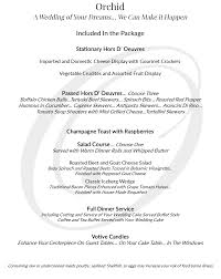 Buffet Menu For Wedding by The Grandview Ballroom At The Oaks Wedding Venue Somersworth Nh