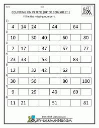 bunch ideas of first and second grade math worksheets for download