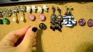 cork board jewelry organizer youtube