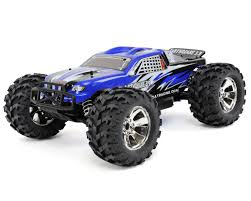 monster truck rc nitro earthquake 3 5 1 8 rtr 4wd nitro monster truck blue by redcat
