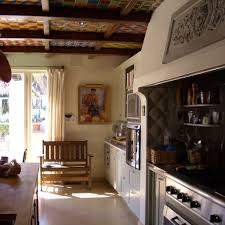 spanish tiles in between ceiling beams gorgeous mission style