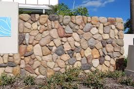Stone Cladding For Garden Walls by River Rock Garden Wall Video And Photos Madlonsbigbear Com