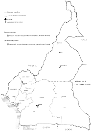 Map Of Cameroon Chapter 14 Cameroon