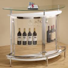 modern cappuccino white clear front glass top wine stemware rack