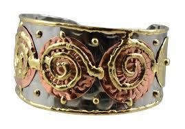 cuff metal bracelet images Anju bracelet metal anju b161 en reverie jpg