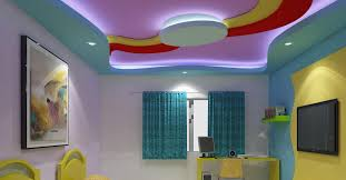 Kids Room Interior Bangalore Residential False Ceiling False Ceiling Gypsum Board Drywall