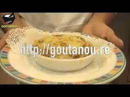 cuisine antou gratin de brede songe par christian antou