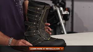 women s black motorcycle boots icon 1000 women u0027s elsinore boots review at revzilla com youtube