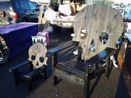 Skull Adirondack Chair Skull Chair Pattern Plans Only Adirondack Chair Yard