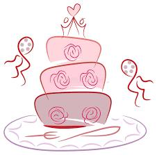 wedding cake drawing brush stroke wedding cake drawing stock vector illustration of