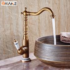 Antique Brass Kitchen Faucet Online Get Cheap Antique Porcelain Sink Aliexpress Com Alibaba