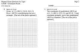 coordinate geometry worksheets worksheets