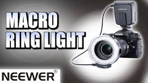 neewer macro ring led light neewer macro ring light fc100 a great little light youtube