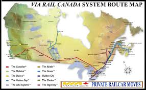 Amtrak Usa Map by Atdlines Railway Business Car Services Railway City Via Rail